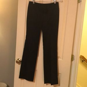 Size 7 black dress pants with 3 button closure